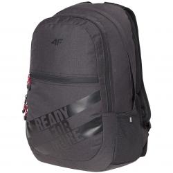 Plecak szkolny, miejski, sportowy 30L H4Z18-PCU004 czarny 4F