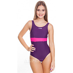 Strój kąpielowy jednoczęściowy SYLWIA 3kolory Aqua-Speed + czepek
