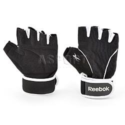 Rękawiczki treningowe, fitness, damskie, regulowane LADIES Reebok Home