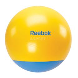 Pi�ka gimnastyczna, fitness, do �wiczen 65cm + pompka + DVD Reebok Home