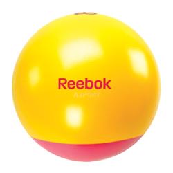 Pi�ka gimnastyczna, fitness, do �wiczen 55cm + pompka + DVD Reebok Home