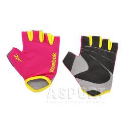 Rękawiczki treningowe, fitness, damskie, regulowane LADIES Reebok