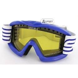 Gogle dziecięce, narciarskie, snowboardowe ANTI-FOG podwójna szyba Salice