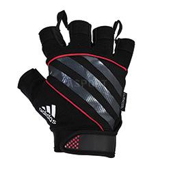 Rękawiczki treningowe, fitness, na siłownię, skóra syntetyczna Adidas