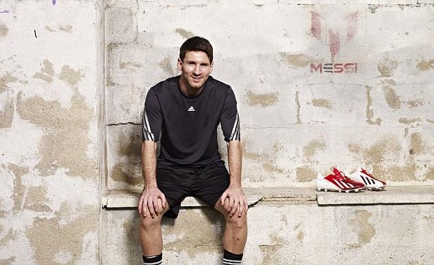 Buty młodzieżowe treningowe półprofesjonalne korki lanki MESSI 16.3 Adidas
