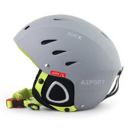 Kask narciarski, snowboardowy JOCK SZARY Axer