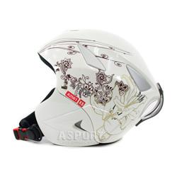 Kask narciarski, snowboardowy, dzieci�cy VINCE WHITE Axer
