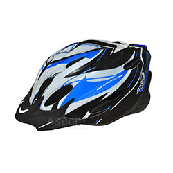 Kask ochronny, rowerowy, na rolki VOYAGER MAT BLUE Axer