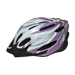Kask ochronny, rowerowy, na rolki VOYAGER SILVER MAT Axer