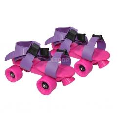 Impregnaty - Wrotki dziecięce, regulowane A17 różowe Axer