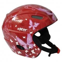 Kask narciarski, snowboardowy, damski ALISON A2555 czerwony Axer