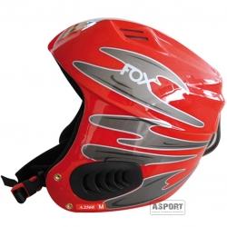 Kask narciarski, snowboardowy FOX A2560 czerwony Axer