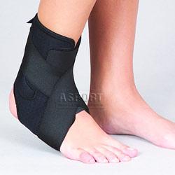 Stabilizator prawego stawu skokowego, ortopedyczny (neopren perforowany)
