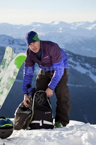 Kurtka zimowa, męska, narciarska, Omni-Heat MILLENIUM FLASH™ Columbia
