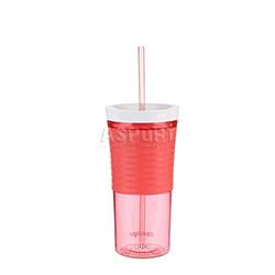Kubek na wodę i napoje, shaker, 2w1 SHAKE&GO 540 ml różowy Contigo