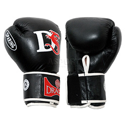 Rękawice bokserskie SPARRING 10oz czarne Dragon Sports