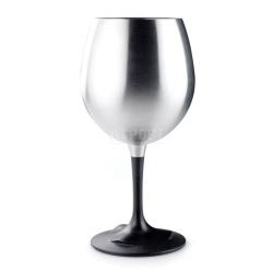 Kieliszek do czerwonego wina, nietłukący, składany, stal nierdzewna 450ml GSI