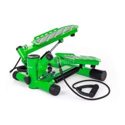 Stepper skośny z linkami i licznikiem HS-30S zielony Hop-Sport
