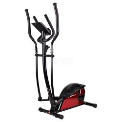 Orbitrek magnetyczny, trenażer HS-4030 czarno-czerwony Hop-Sport