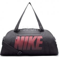 Torba sportowa, treningowa GYM CLUB W 30l szaro-różowa Nike