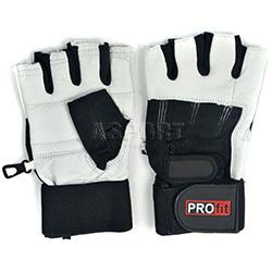 Rękawiczki treningowe, kulturystyczne, skóra naturalna GYM PRO PROfit