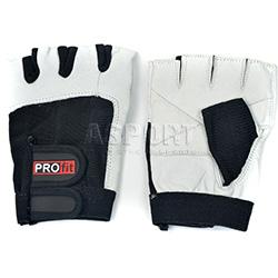 Rękawiczki treningowe, kulturystyczne, skóra naturalna GYM PROfit