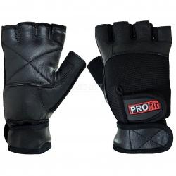 Rękawiczki treningowe, kulturystyczne, skóra naturalna PRO PROfit