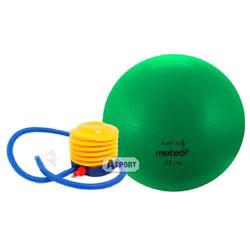 Instrukcja - Piłka gimnastyczna do ćwiczeń z pompką Meteor