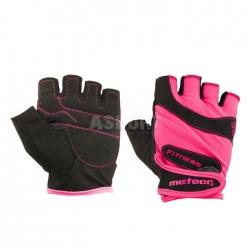 Rękawiczki treningowe, fitness, damskie GRIP LADY PINK Meteor