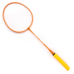 Rakietka do badmintona 1szt. LIGHT 400 pomarańczowa Meteor