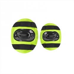 Zestaw: rolki regulowane + ochraniacze + kask zielony NJ082Z Nils Extreme