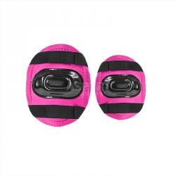 Zestaw: rolki regulowane + ochraniacze + kask różowy NJ082Z Nils Extreme