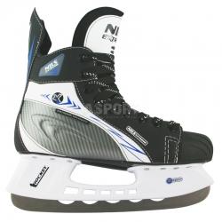 Łyżwy hokejowe, hokejówki, sznurowane NH 221 S Nils Extreme