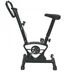Rower mechaniczny, z pomiarem pulsu W7208 biały One Fitness