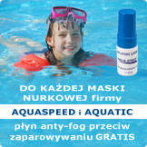 Promocja: do maski Aqua-Speed i Aquatic płyn Anti-Fog gratis