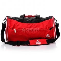 Torba sportowa, treningowa, podr�na B512640 czerwono-czarna Peak