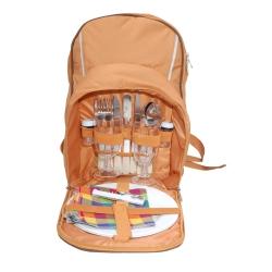 Plecak piknikowy + 2 talerze, 2 szklanki, sztućce, akcesoria Rockland