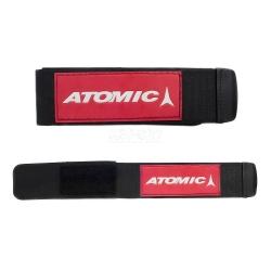 Rzepy do nart biegowych ATOMIC BA2 2szt. czerwono-bia�e