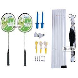 Instrukcja - Zestaw do badmintona 44029, 44028 Solex
