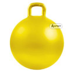 Instrukcja - Piłka skacząca z rogami, z uchwytem SPOKEY