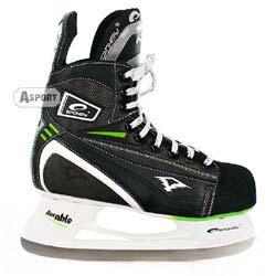 Łyżwy hokejowe DURABLE zielone Spokey