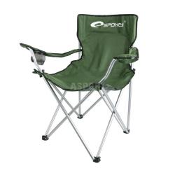 Krzesło campingowe, turystyczne, składane FISHER GREEN + pokrowiec