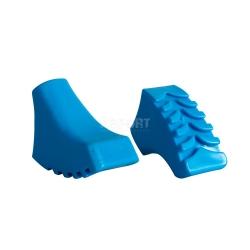 Nakładki na kije trekkingowe, nordic walking, osłona grotu CALLOUS BLUE Spokey