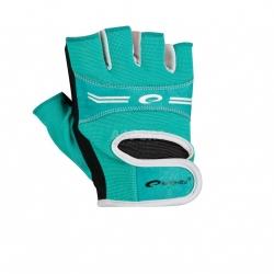 Rękawice, rękawiczki fitness, na siłownię ELENA turkusowe Spokey
