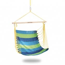 Hamak bawełniany, krzesło brazylijskie, huśtawka ogrodowa 100x80 cm BENCH Spokey