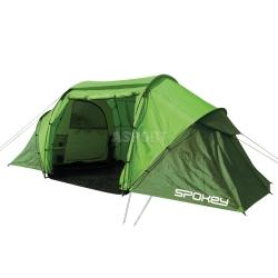 Namiot turystyczny, biwakowy, 4-osobowy, 2 sypialnie TIMBERLANE Spokey