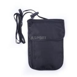 Portfel, etui, saszetka, na szyję, RFID, antykradzieżowa INTERCITY 1 Spokey