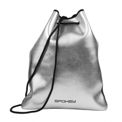 Plecak sportowy, worek PURSE srebrny Spokey