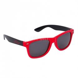 Okulary przeciwsłoneczne, filtr UV RETRO czerwone Tempish