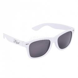 Okulary przeciwsłoneczne, filtr UV RETRO białe Tempish